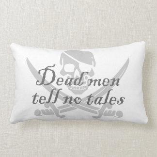Dead Men Tell No Tales Lumbar Pillow