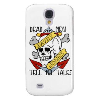 DEAD MEN TELL NO TALES... PIRATE TATTOO DAVEY JONE GALAXY S4 COVER