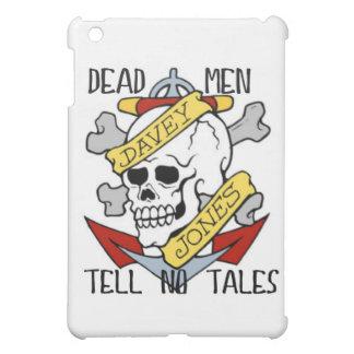 DEAD MEN TELL NO TALES... PIRATE TATTOO DAVEY JONE iPad MINI COVER