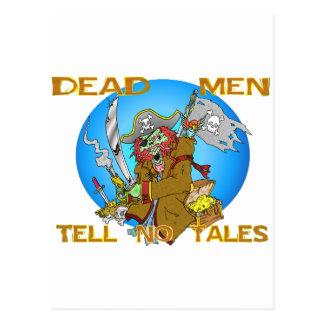 DEAD MEN TELL NO TALES POSTCARD