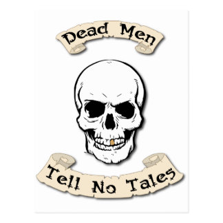 Dead Men Tell No Tales Postcard