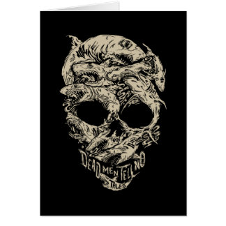 Dead Men Tell No Tales Skull Card