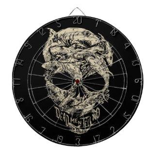 Dead Men Tell No Tales Skull Dartboard