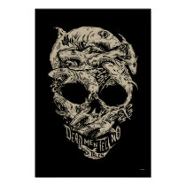 Dead Men Tell No Tales Skull Poster