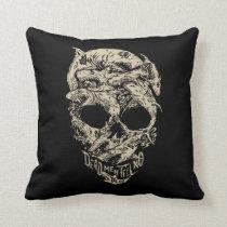 Dead Men Tell No Tales Skull Throw Pillow