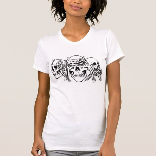 Dead men tell no tales... t-shirts