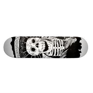 Dead Mexican Mad Mariachi Skull Skateboard Deck