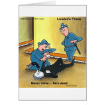 Dead Mime Funny Tees Mugs Cards Gifts Etc Greeting Card