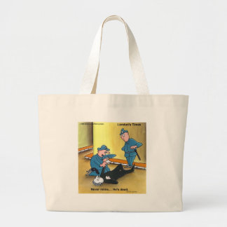 Dead Mime Funny Tees Mugs Cards Gifts Etc Jumbo Tote Bag