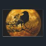 """Dead moon crow placemat<br><div class=""""desc"""">Dead moon crow placemat</div>"""