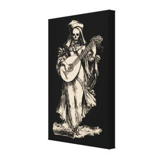 DEAD Musician Canvas Print