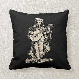 DEAD Musician Throw Pillow