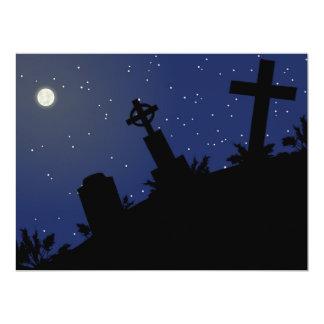 DEAD OF NIGHT! (tombstones - graveyard) ~ Card