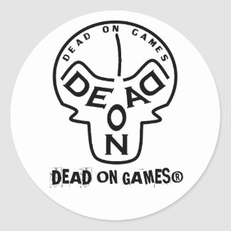 DEAD ON GAMES® - Merchandise Stickers