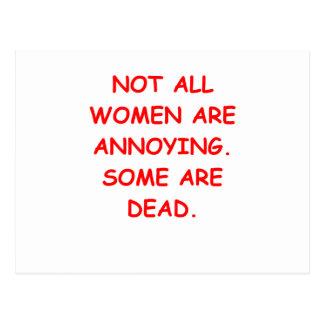 dead people postcard