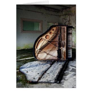 Dead Piano Card