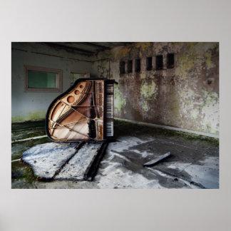 Dead Piano Print