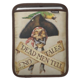 Dead Pirate iPad Sleeve