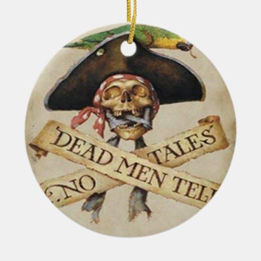Dead Pirate Ornament