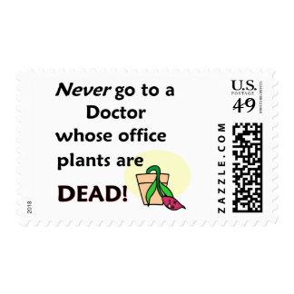 Dead Plants Postage Stamps