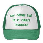 dead possum trucker hats