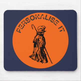 Dead reanimated mouse pad