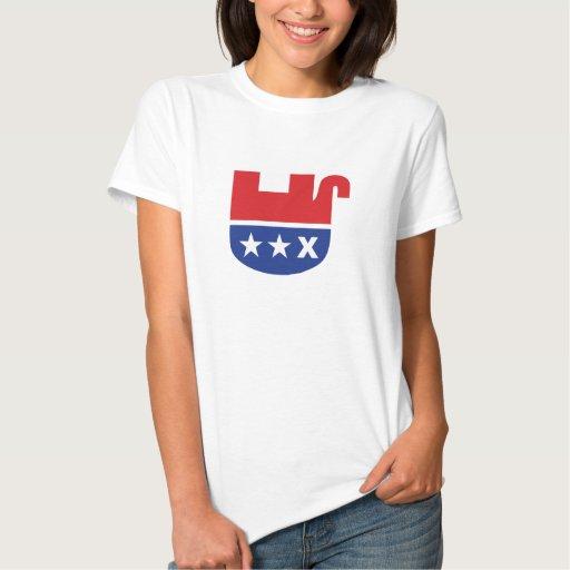 Dead Republican Elephant Tshirts
