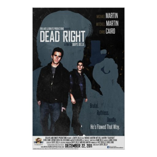 Dead Right Poster