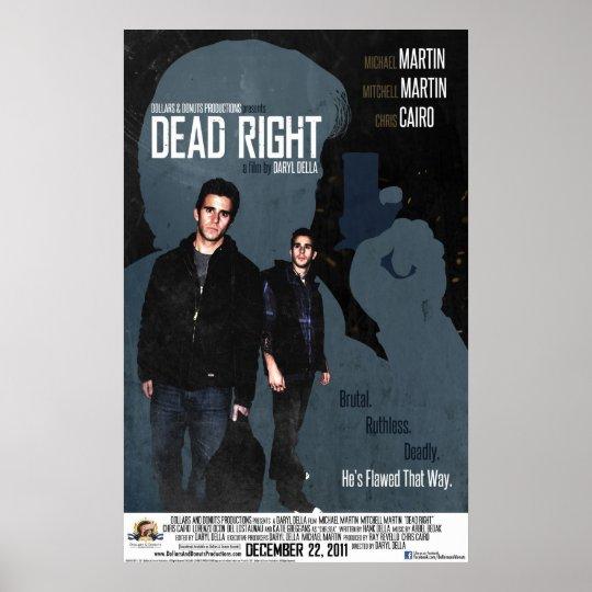 Dead Right Poster
