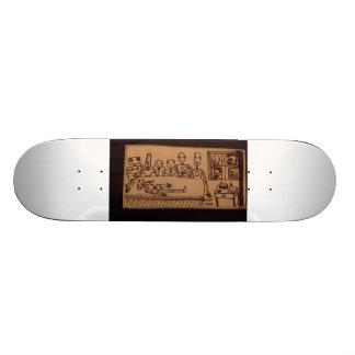Dead Robot Skateboard Deck