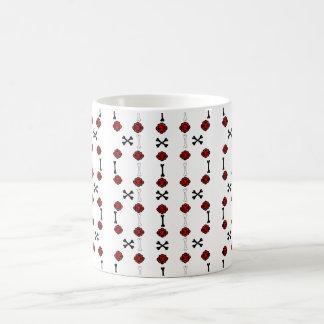 Dead Roses (Black w/ Red) Coffee Mug