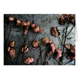 Dead Roses Card - customizable