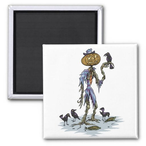 dead scarecrow magnet