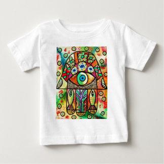 Dead Sea Fish Hamsa Baby T-Shirt