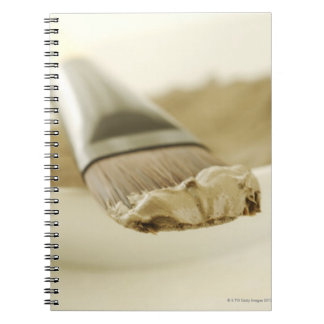 Dead sea mask, close up notebook