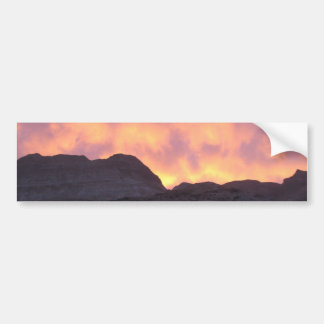 Dead Sea Sunset Bumper Sticker