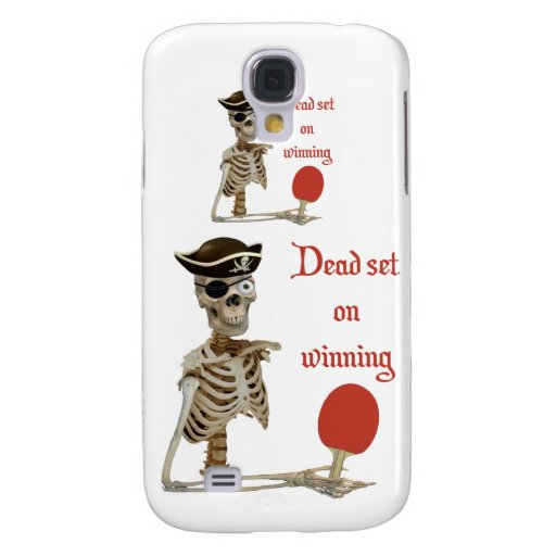 Dead Set Pirate Ping Pong Samsung Galaxy S4 Cases