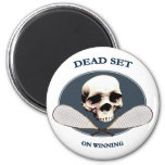 Dead Set Pirate Racquetball Refrigerator Magnet