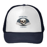 Dead Set Pirate Racquetball Trucker Hats
