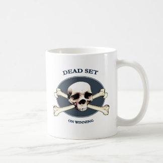 Dead Set Pirate Skull Coffee Mug
