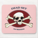 Dead Set Pirate Skull Mouse Pad