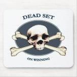 Dead Set Pirate Skull Mousepad