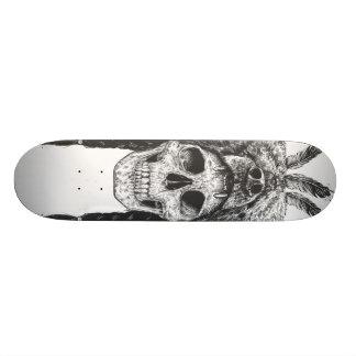 Dead shaman (b&w) skateboard deck