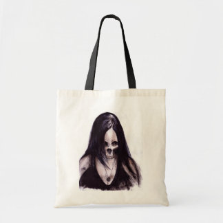 Dead-She Budget Tote Bag