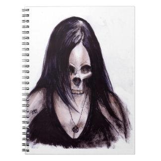 Dead-She Spiral Notebook