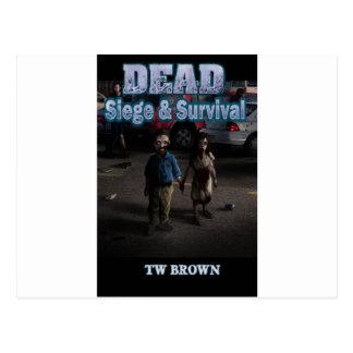 DEAD Siege and Survival Postcard