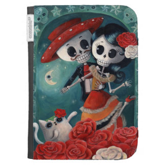 Dead Skeleton Mexican Lovers Case For Kindle