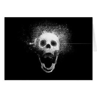 dead skull card