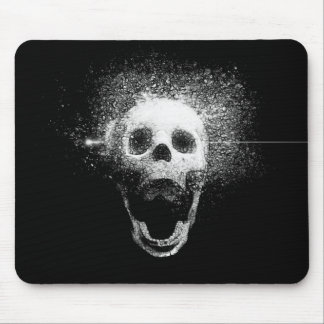 dead skull mouse pad
