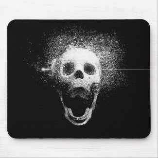dead skull mousepad